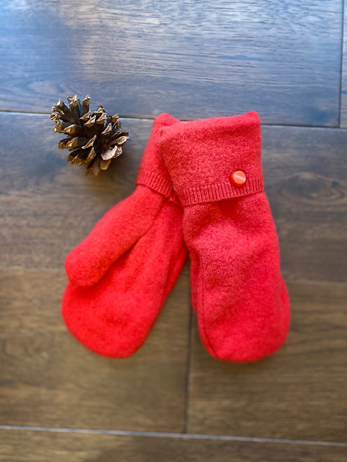 Cashmere ~ Red Coral ~ Women's Small or Medium