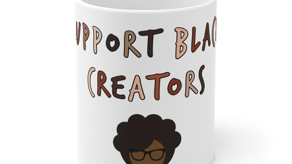 Support Black Creators Mug