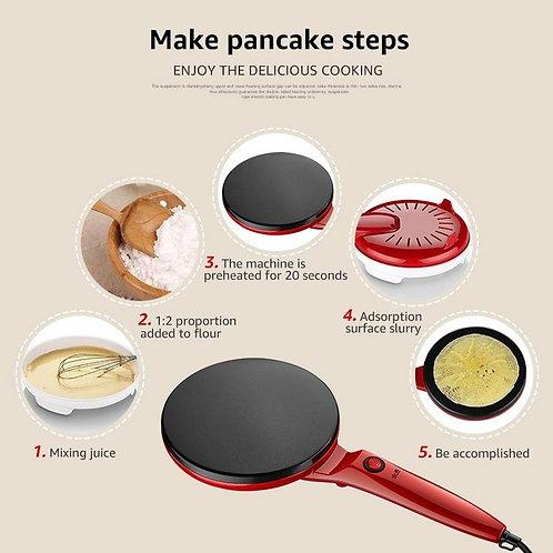 Crepe Pan Electric Crepe Maker Baking Pan Spring Roll Frying Machine Pancake Piz