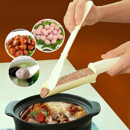 Meat Ball Maker Plastic Kitchen DIY Kids Food Fish Ball Mold Hot Pot Home Device