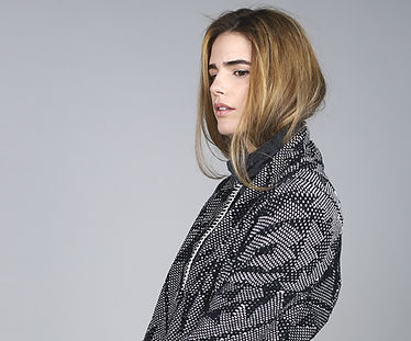 Model in Cotton Coat
