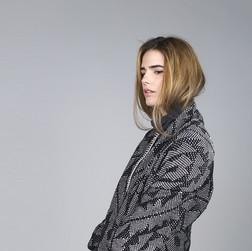 Model in Cotton Coat