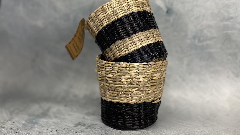 Seagrass Black Set of 2