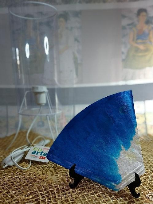 Kit Luminária Safira Azul