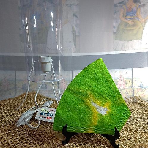 Kit Luminária Verde Esmeralda