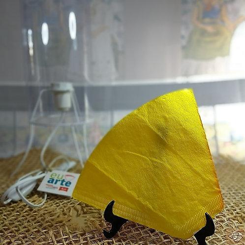 Kit Luminária Amarelo Fluor
