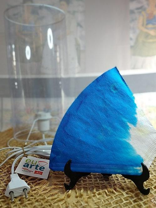 Kit Lanterna Safira Azul