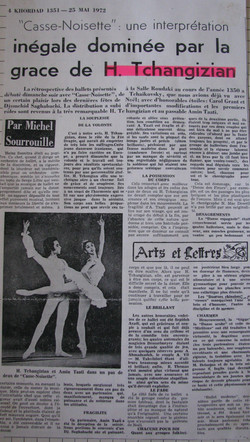 Journal DE Teheran, 1972