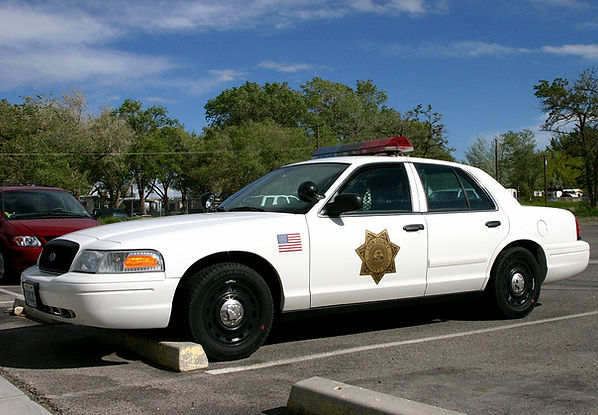 Old LCSO Cop Car