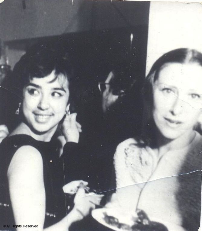 With Maya Plisietscaya