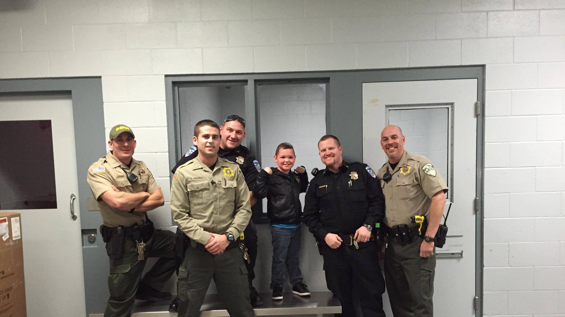 Deputies in the jail