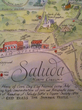Saluda:  where summertime and the living are easy