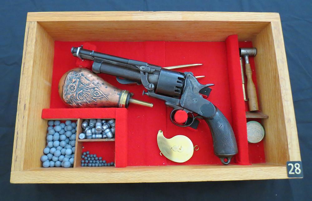 Le Mat 9-shot Confederate Revolver