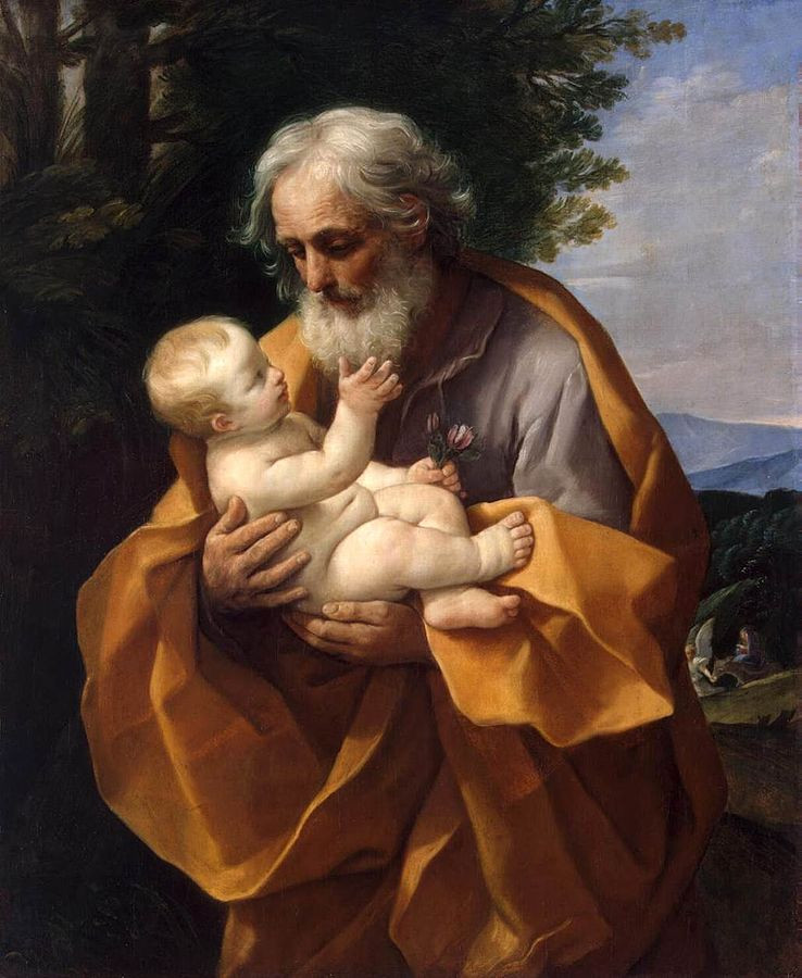 Guido Reni - St Joseph with the Infant Jesus