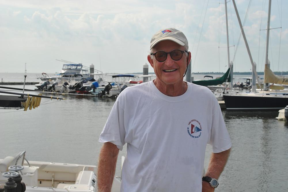 Lenny Krawcheck at the Carolina Yacht Club