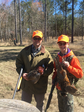 A pleasant pheasant shoot in Jacksonboro