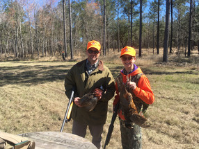 A pleasant pheasant shoot in Jacksonboro
