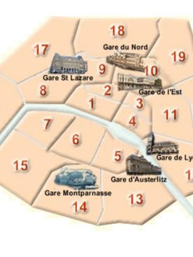 How railroads changed Paris