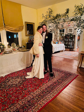 A 2020 marriage brings romance into 2021