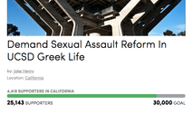 Over 25,000 Signatures Collected On Student Petition Demanding Sexual Assault Reform In Greek Life