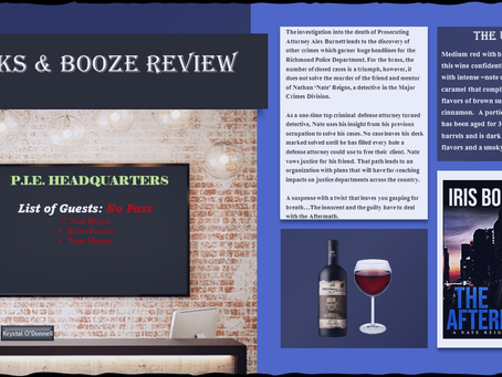 BOOKS & BOOZE REVIEW: THE AFTERMATH by IRIS BOLLING