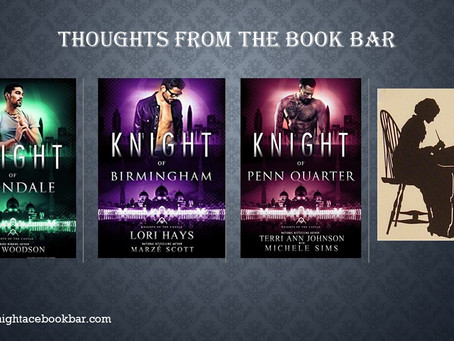 A BOOK BAR REVIEW:             KNIGHTS OF THE CASTLE