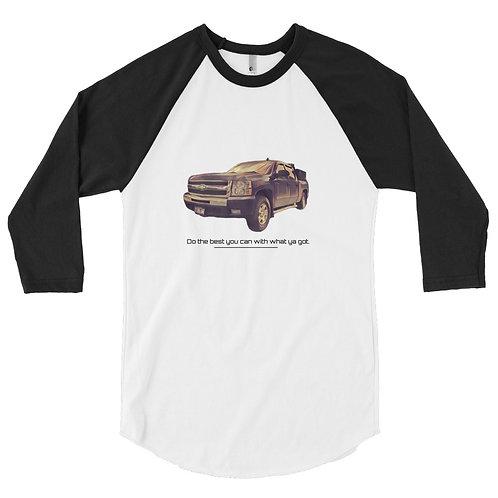 Four Acres 3/4 sleeve raglan shirt