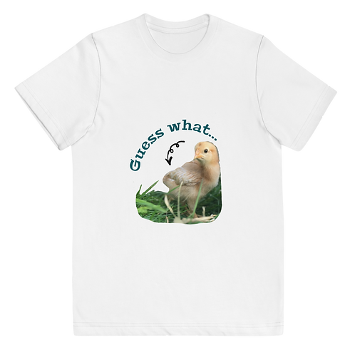 Guess What?! Youth jersey t-shirt