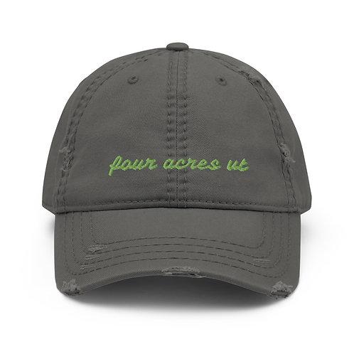 Four Acres Vt Distressed Hat