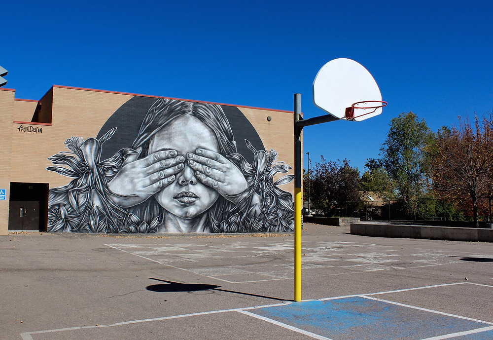Paola Delfin, street art, Cori Anderson photography, RAW Project