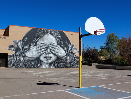 These Denver Elementary Schools Are Decked Out With Street Art