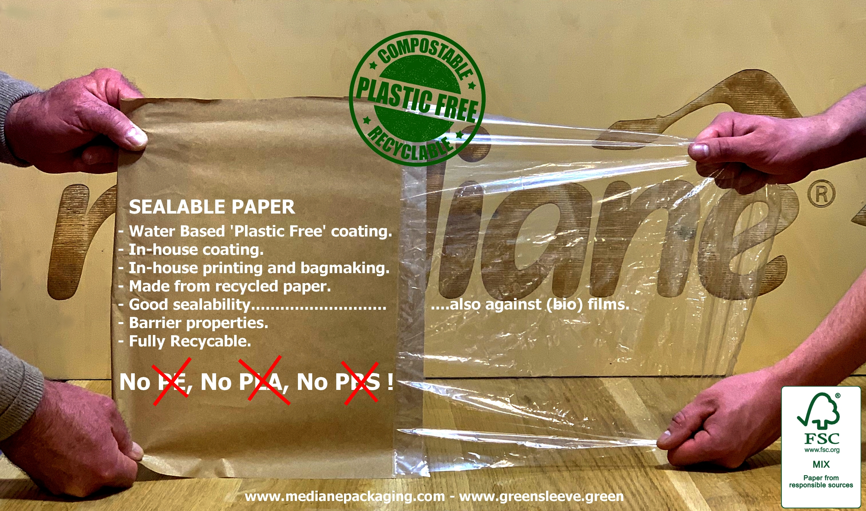 Introducing SEALPAP! Sealable Papers