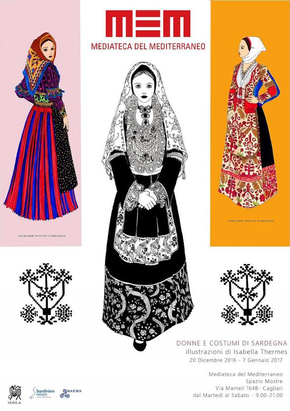 Donne e Costumi di Sardegna