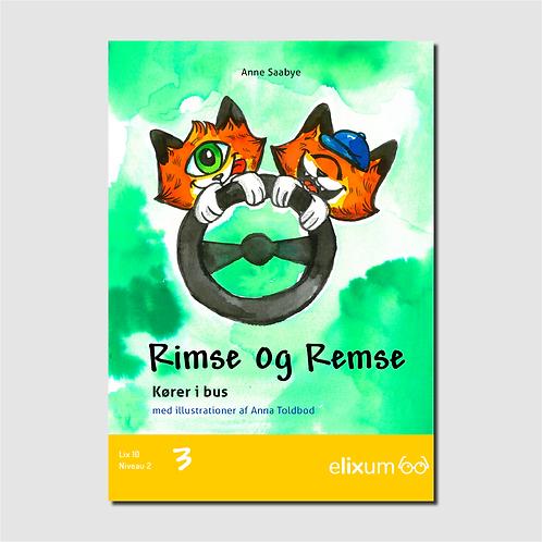 Rimse og Remse 3 - Kører i bus