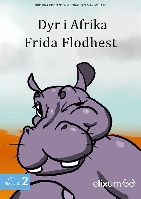 Dyr i Afrika 2 - Frida Flodhest