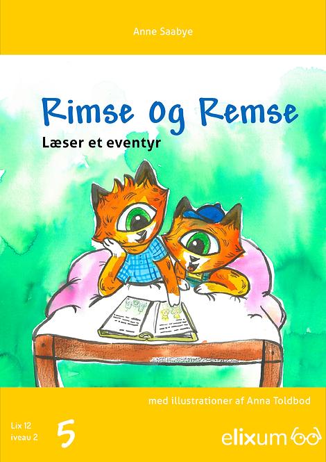 Rimse og Remse 5 - Læser et eventyr