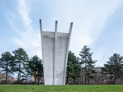 Berlin Airlift Memorial Near Former Temp