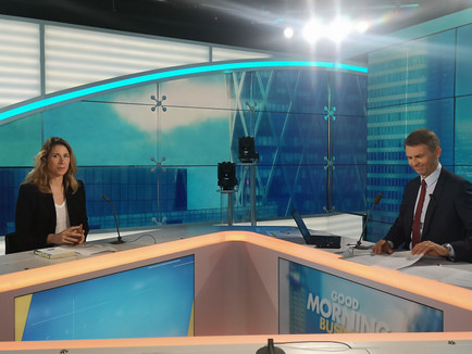 Aurélie Gaudillère, présidente d'Enerlis,était l'invitéedans l'émission Good Morning B