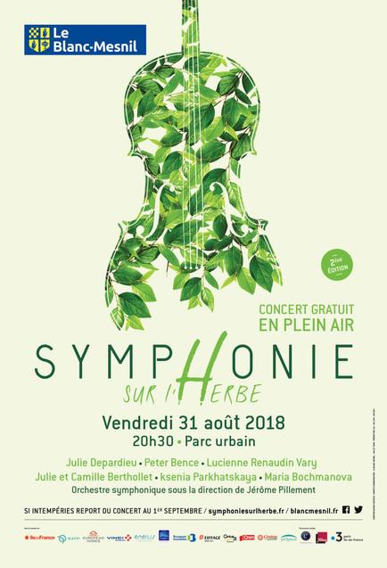 """Festival """"Symphonie sur l'Herbe"""""""