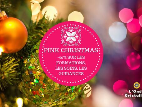 Pink Christmas : tout à -50%