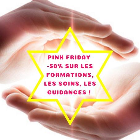 Pink friday : tout à -50%