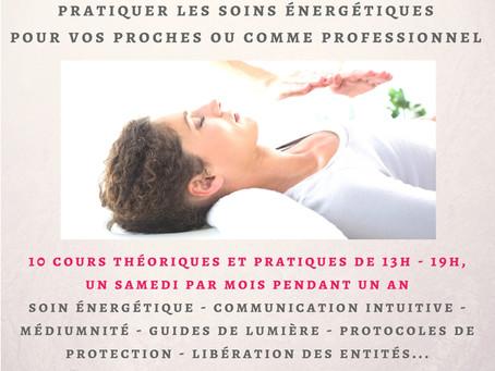 Formation certifiante énergéticien et soin chamanique