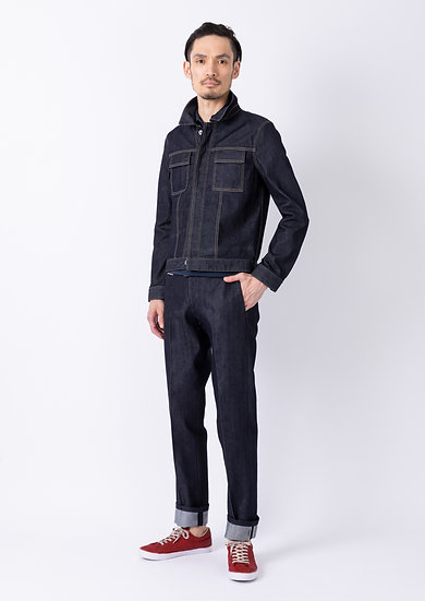 TCR2110213-39 Sustainable selvedge straight fit