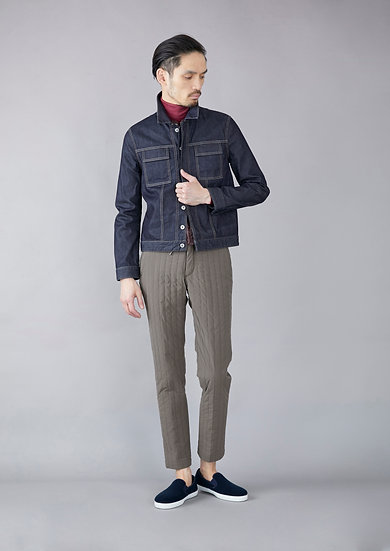 TCR1930221-47 Winter quilted easy slim fit