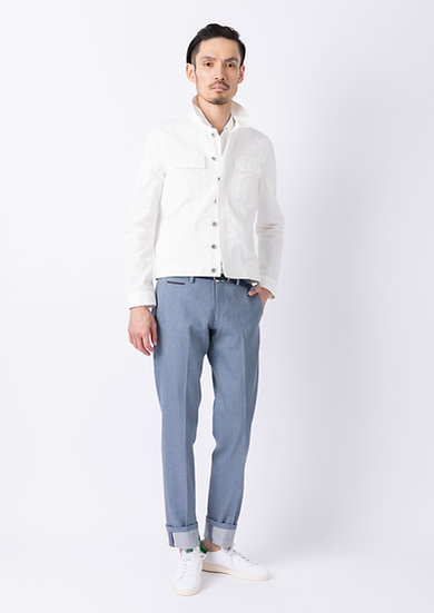 TCR2110213-34 Sustainable selvedge straight fit