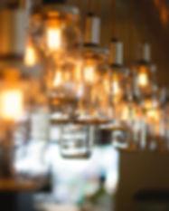 custom glass jar chandelier.jpg