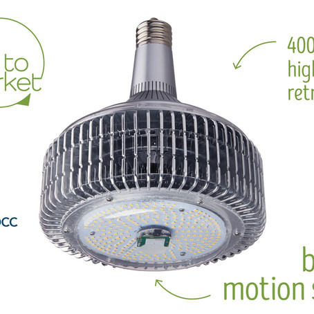 Light Efficient Design First-to-Market with 400W High Bay Retrofit with Built-In Occupancy Sensor