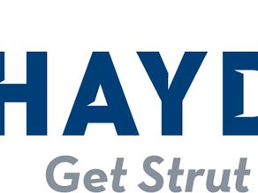 Electra Sales to Represent Haydon Corporation