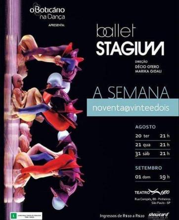 Ballet: A Semana noventa@ vinteedois