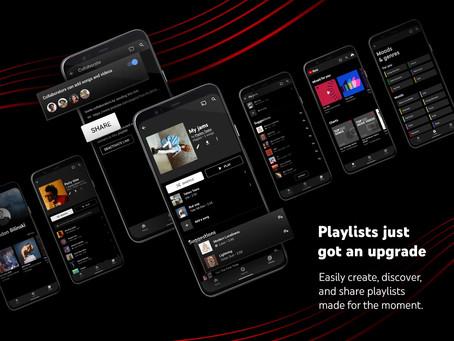 YouTube Music lança novos recursos de playlists